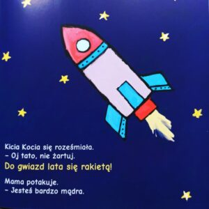 Kicia Kocia w kosmosie - seria książek dla przedszkolaków
