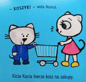 Kicia Kocia i Nunuś Idziemy na zakupy - recenzja książki